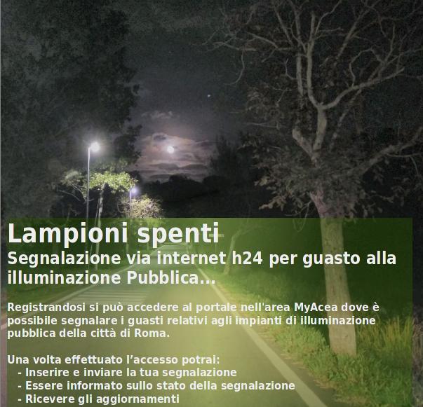 Lampioni spenti - web