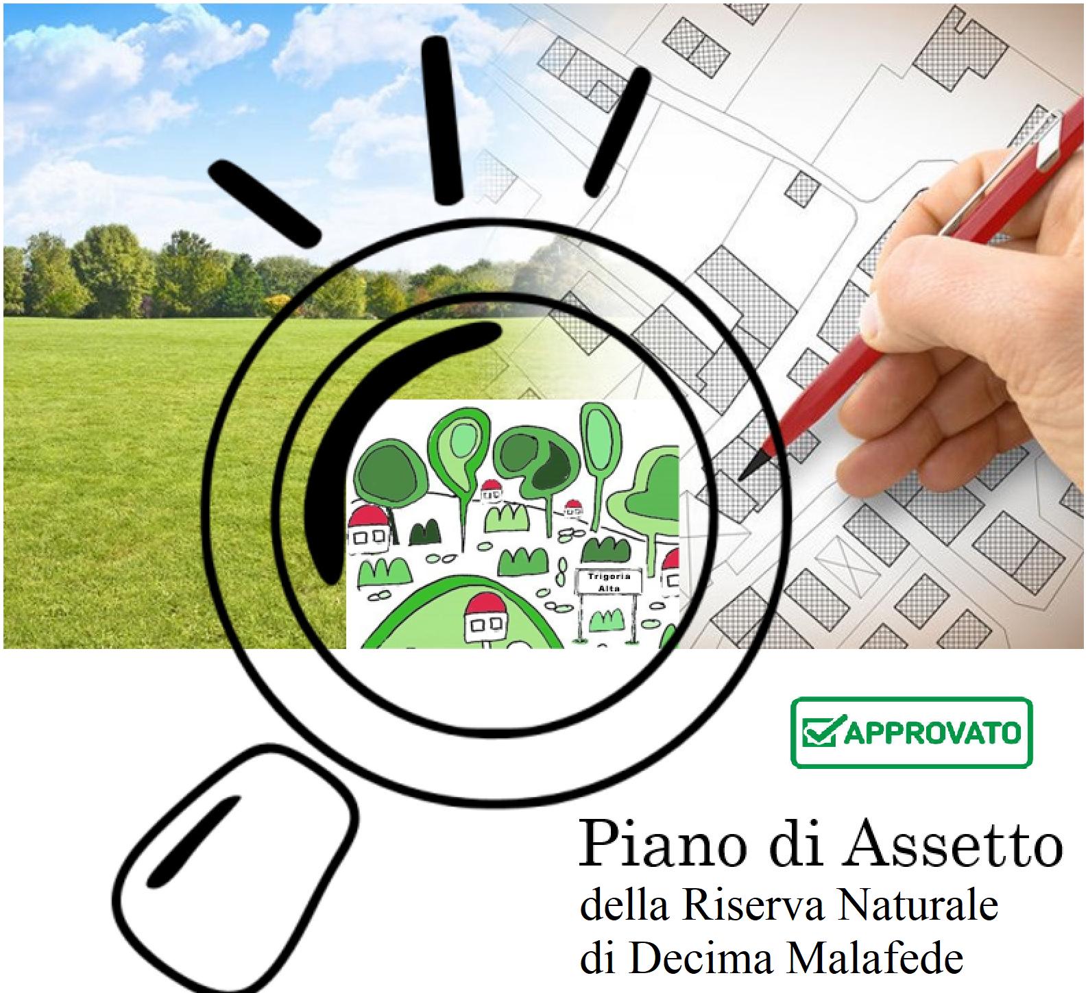 SCHEDA PIANO DI ASSETTO RISERVA NATURALE DECIMA MALAFEDE